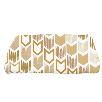 Waller Peace 1 Geometric Bath Towel Color: Gold