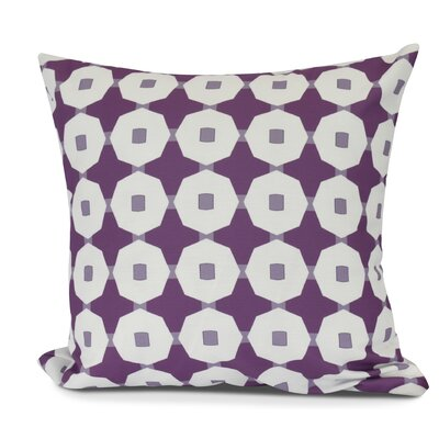 Waller Square Throw Pillow Size: 16 H x 16 W, Color: Purple