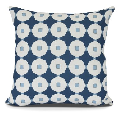 Waller Square Throw Pillow Size: 26 H x 26 W, Color: Blue