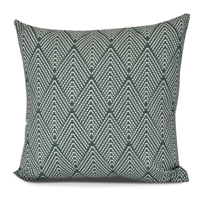 Michiel Outdoor Throw Pillow Size: 18 H x 18 W, Color: Green