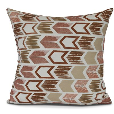 Waller Throw Pillow Size: 16 H x 16 W, Color: Taupe