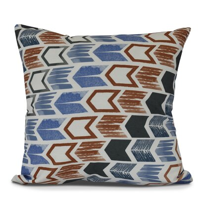 Waller Throw Pillow Size: 16 H x 16 W, Color: Gray