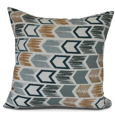 Waller Throw Pillow Size: 16 H x 16 W, Color: Teal