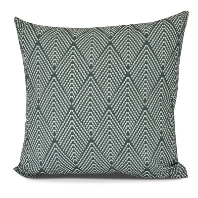 Waller Lifeflor Geometric Throw Pillow Size: 16 H x 16 W, Color: Green