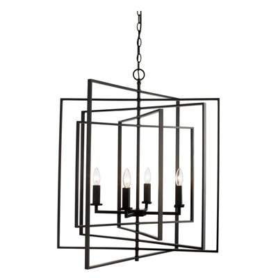Yarnell 4-Light Foyer Pendant Finish: Rubbed Oil Bronze