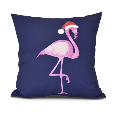 Snow Bird Outdoor Throw Pillow Size: 16 H x 16 W