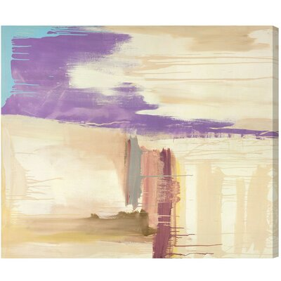 'SAI - Abstract Sunset' Painting Print on Canvas Size: 12
