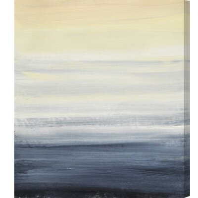 'Sea Fog Vertical' Painting Print on Canvas Size: 16