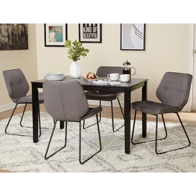 Goldner 5 Piece Dining Set