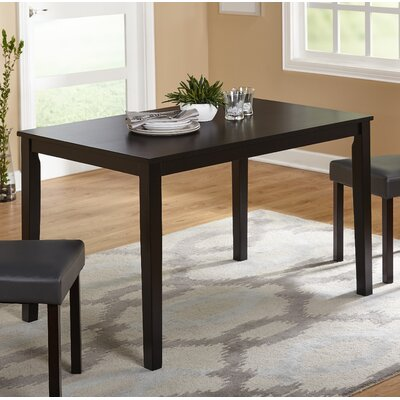 Daleyza Dining Table Finish: Black