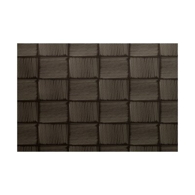 Ursae Geometric Print Brown Indoor/Outdoor Area Rug Rug Size: 2 x 3