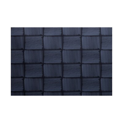 Uriarte Geometric Print Blue Indoor/Outdoor Area Rug Rug Size: Rectangle 2' x 3'