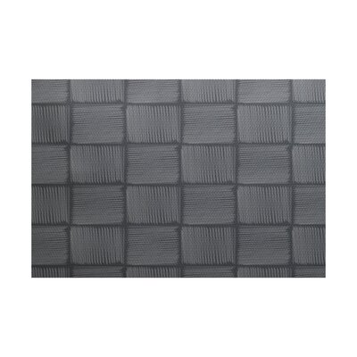 Urquhart Geometric Print Gray Indoor/Outdoor Area Rug Rug Size: Rectangle 3' x 5'