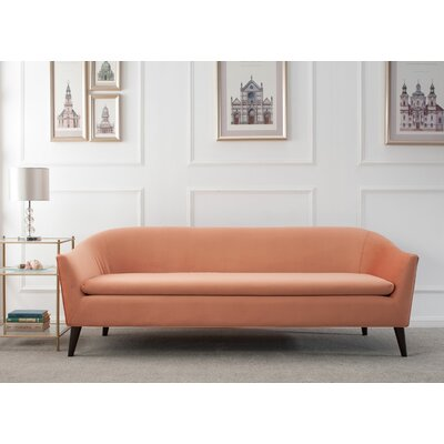 Goodale Sofa Upholstery: Orange