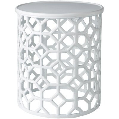 Eliana� End Table Finish: White