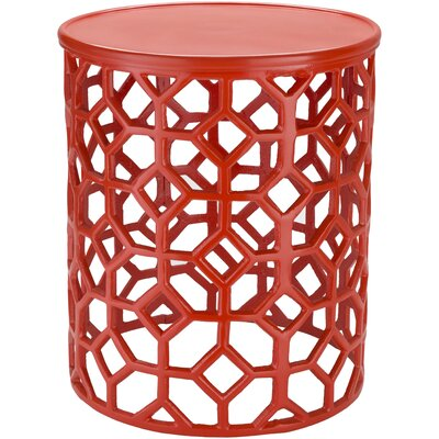 Depalma End Table Color: Red