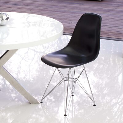 Boer Side Chair Finish: Black