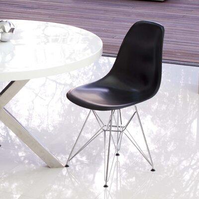 Boer Side Chair (Set of 2) Finish: Black