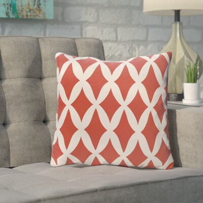 Throw Pillow Size: 26 H x 26 W, Color: Bulb