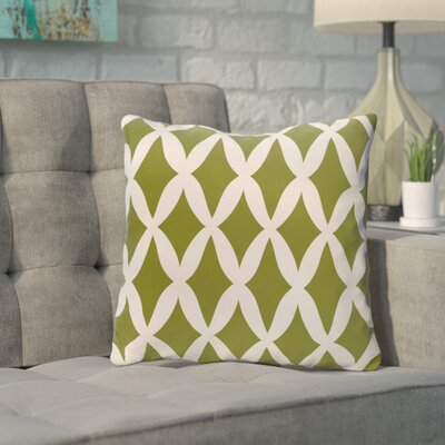 Throw Pillow Size: 18 H x 18 W, Color: Fern