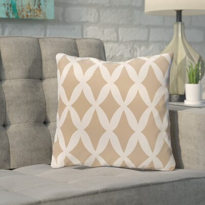 Throw Pillow Size: 20 H x 20 W, Color: Toffee