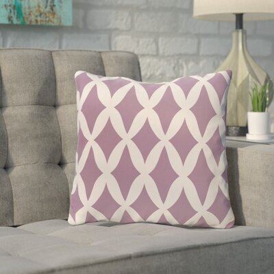 Throw Pillow Size: 26 H x 26 W, Color: Sachet
