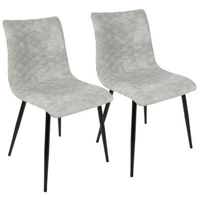 Bakken Side chair Upholstery: Gray