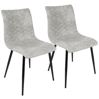 Bakken Side chair Upholstery: Gray