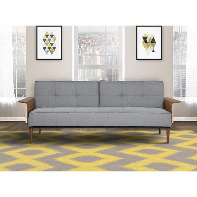 Monroe Convertible Sofa Upholstery: Gray