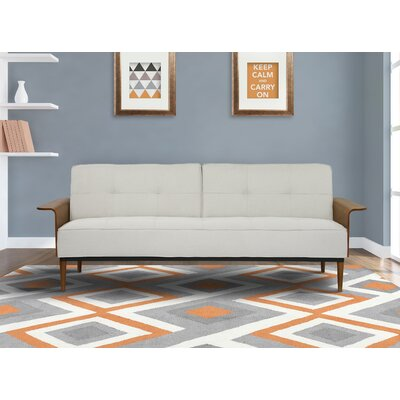 Monroe Convertible Sofa Upholstery: Beige