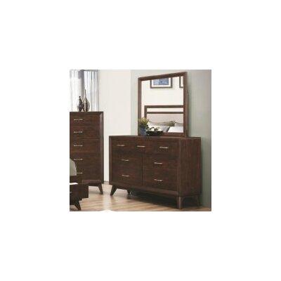 Zeta 7 Drawer Dresser with Mirror