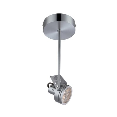 Racquel 3-Light Semi-Flush Mount