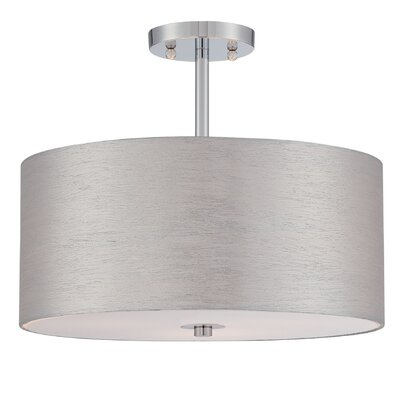 Timaios 3-Light Semi Flush Mount