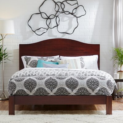 Yeala Camelback Panel Headboard Size: Queen