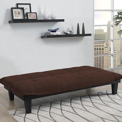 Bane Convertible Sofa Upholstery: Brown