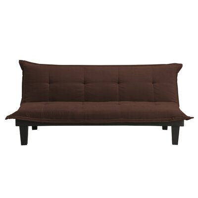 Bane Convertible Sofa Upholstery: Brown