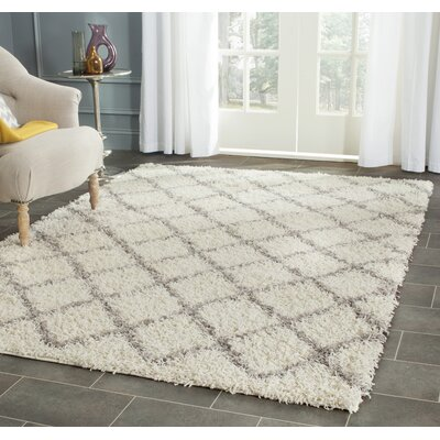 Brant Ivory Area Rug Rug Size: Rectangle 4 x 6