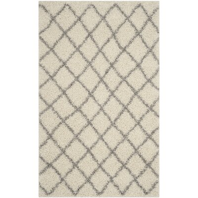 Brant Ivory Area Rug Rug Size: Rectangle 51 x 76