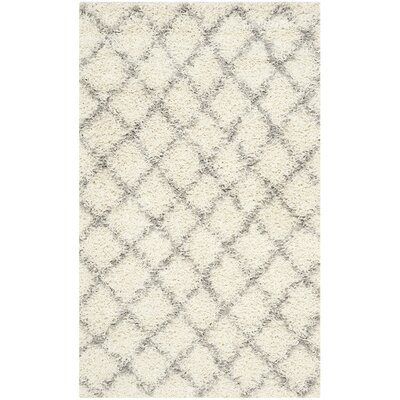 Brant Ivory Area Rug Rug Size: Rectangle 23 X 14