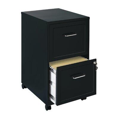 Mercury Row Cadogan 2 Drawer Mobile Vertical Filing Cabinet MCRW2939 37933087