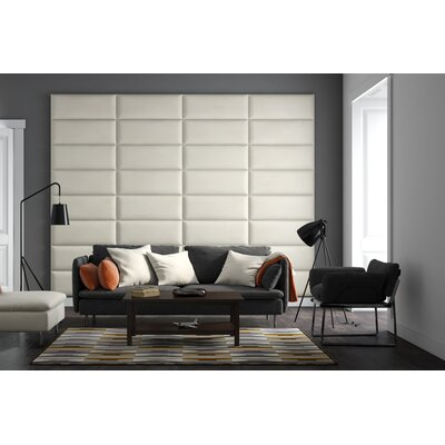 Bernardsville Upholstered Headboard Panels Size: 46 H x 30 W x 2.5 D, Upholstery: Suede Light Taupe