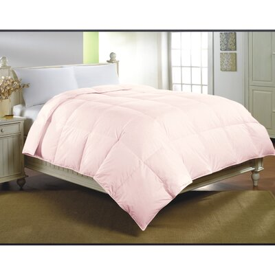 Midweight Cotton Down Alternative Comforter Size: King