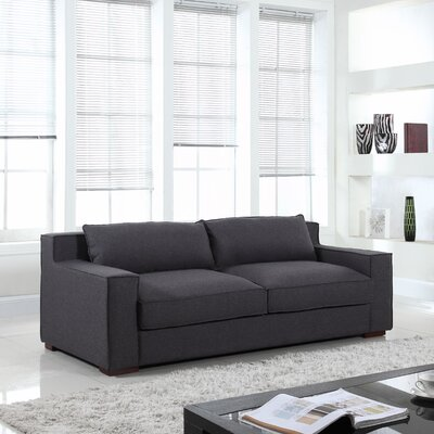 Calderon Capri Sofa Upholstery: Dark Grey