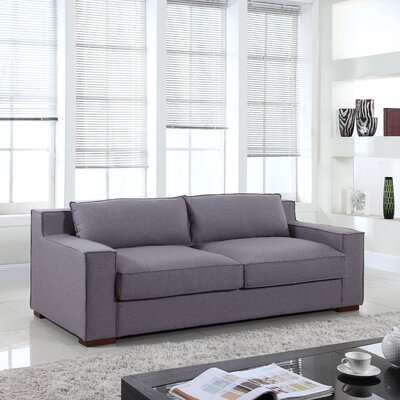 Calderon Capri Sofa Upholstery: Light Grey