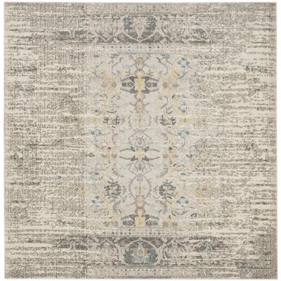 Hydra Brown/Green Area Rug Rug Size: Square 5