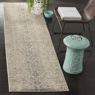 Hydra Brown/Green Area Rug Rug Size: Runner 22 x 6