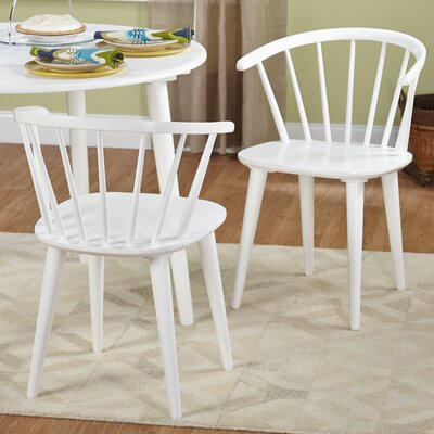 Bernhard Arm Chair Finish: White