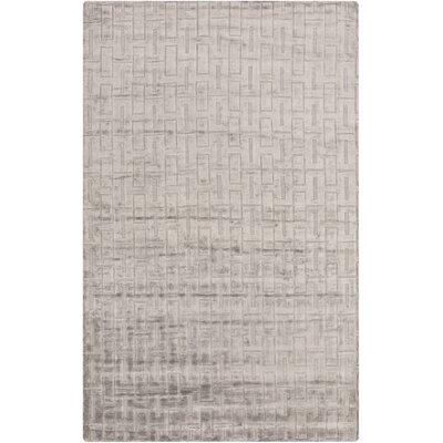 Cordray Handmade Gray Area Rug Rug Size: 2 x 3