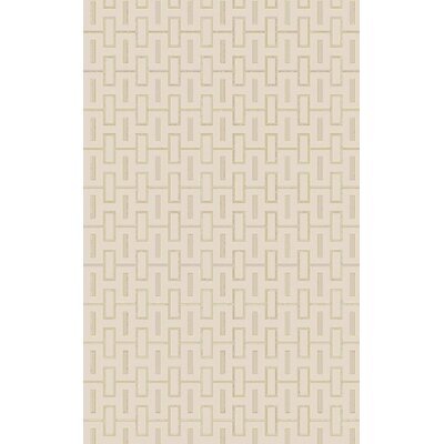 Ines� Beige Area Rug Rug Size: Rectangle 5 x 8