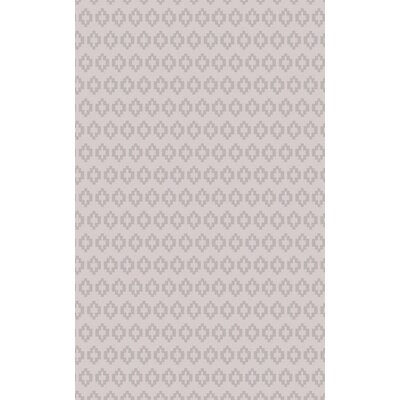 Ines� Gray Area Rug Rug Size: Rectangle 5 x 8
